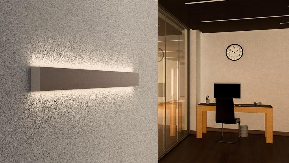 Perfil LED Arandela