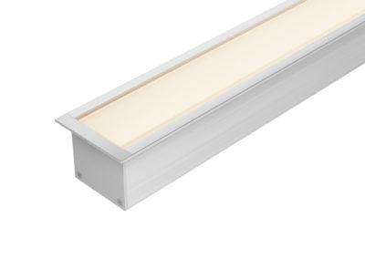 Perfil embutido LED 40mm