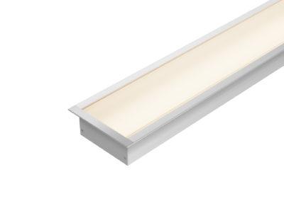 Perfil Embutido LED 80mm
