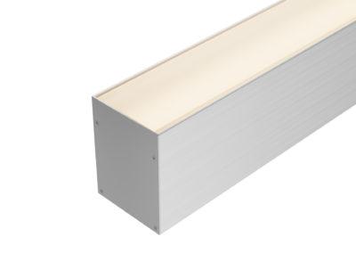 Perfil pendente ou sobrepor LED 60mm