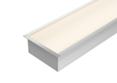 Perfil Embutido LED 100mm
