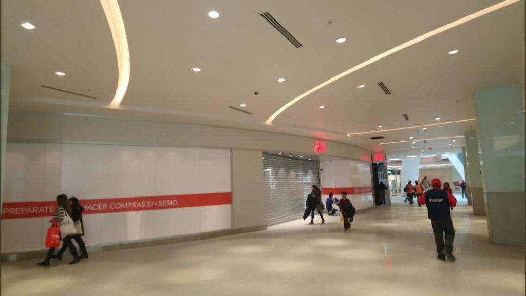 Mall Barrio Independencia | Iluminacao comercial