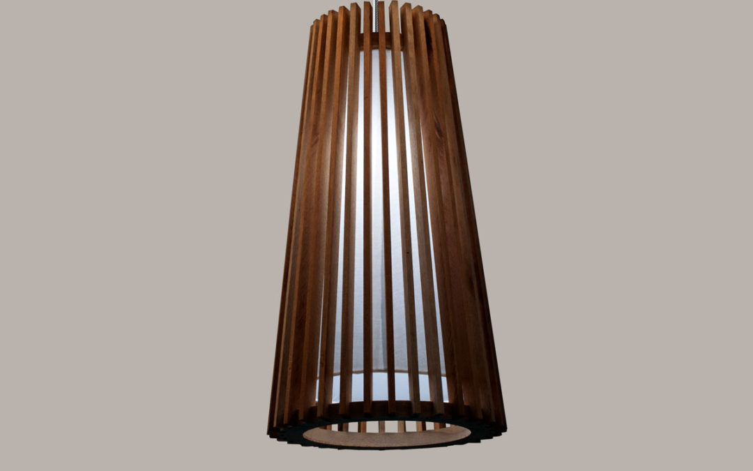 Luminária pendente Pipa LED