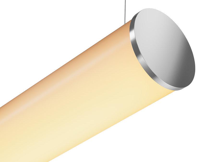 Perfil Tubular LED 80mm