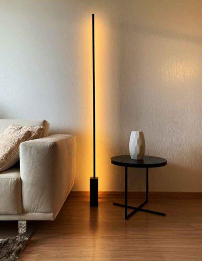 Luminaria de solo vertical led - power lume - verty