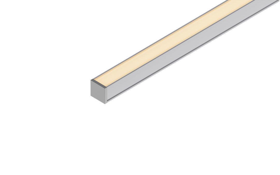 Perfil sobrepor LED 12mm